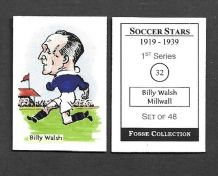 Millwall Billy Walsh 32 (FC)